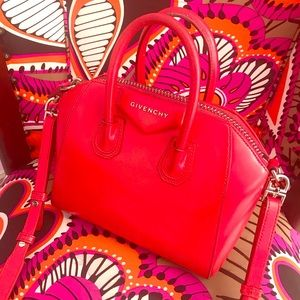 Givenchy Small Red Antigona Bag